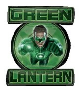 "39"" Green Lantern Balloon Shape"