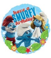 "18"" Smurfs Movie Birthday Balloon"