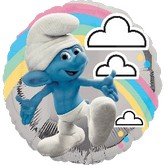 "18"" Smurfs Movie Mylar Party Balloon"