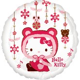 18&#39&#39 Hello Kitty Happy Holidays