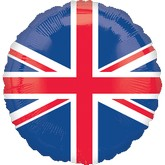 "18"" Great Britain Flag Balloon"