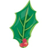 18&#39&#39 Christmas Holly SuperShape