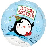 18&#39&#39 Seasons Greetings Penguin
