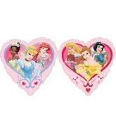 "18"" Princesses Love Heart Balloon"