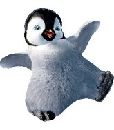 "26"" Happy Feet Erik-shape Balloon"