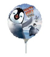 "9"" Mini Balloon (Airfill Only) Happy Feet 2"