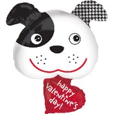 "29"" Valentine&#39s Day Puppy"