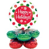 Christmas Balloon Centerpiece Magicarch