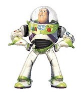 "53"" Buzz Lightyear Toy Story Airwalker Balloon"