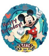 "28"" Sing-A-Tune Mickey Clubhouse Birthday"