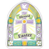 "18"" Blessed Easter Window Balloon"