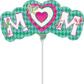 Airfill Only Mini Shape Mom Butterflies Balloon