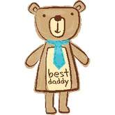 "35"" Best Daddy Bear"