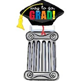 Graduation Column Balloon