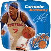 "18"" NBA Carmelo Anthony Basketball Balloon"