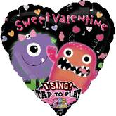 "29"" Singing Balloon Sweet Valentine Candy"