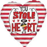 "18"" You&#39Ve Stole My Heart Mylar Balloon"