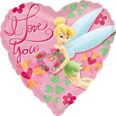 "18"" I Love You Tinkerbell Balloon"