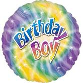 "18"" Birthday Boy Mylar Balloon"