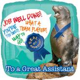 "18"" Great Assistant Seal Balloon"