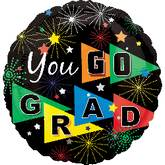 "18"" You Go Grad Balloons"