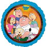 "18"" Family Guy Griffins Mylar Balloon"