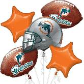 Miami Dolphins Bouquet