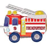 Air Walker Mighty Fire Truck Balloon