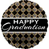 "18"" Happy Graduation Tapestry"