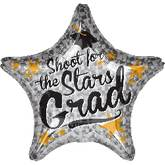 "32"" Shoot for the Stars Grad Star Balloon"