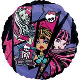 "18"" Monster High Group Mylar Balloon"
