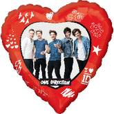 "18"" One Direction Band Love"