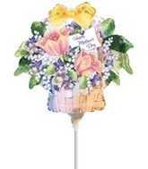 "11"" Happy Mother Day Flowers Balloon"