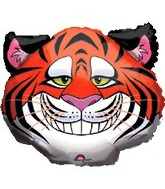 "25"" Large Circus Tiger Foil Balloon"