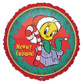 18'' Tweety Elf balloon