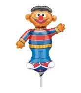 15&#39&#39 (Airfill Only) Sesame Street Earnie Balloon