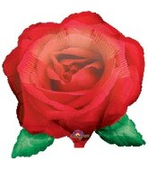 "27"" Flower Rose Balloon - Floatograph"