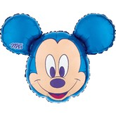 "27"" Mickey Mouse Head Blue"