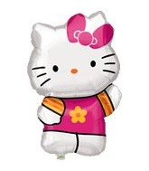 "25"" Hello Kitty Balloon Summer Kitty"