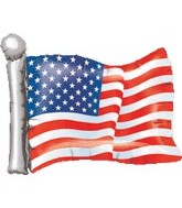 "27"" Jumbo American Flag Balloon"