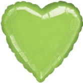 "18"" Lime Green Heart"