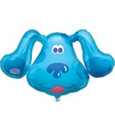 "28"" Blues Clues Face Balloon"