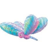 "40"" Large Dragonfly Mylar Balloon"