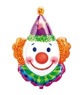 "33"" Juggles the Clown Balloon"