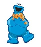 "31"" Sesame Street Cookie Monster"