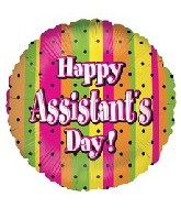 "18"" Polka Dots Assistant Day"