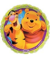 "18"" Winnie Pooh & Tigger Friends Forever"
