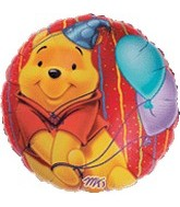 "30"" Winnie the Pooh Party Balloons"