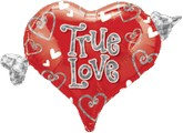 "18"" Simply Said True Love Balloon"