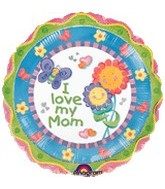 "32"" I Love Mom Chatterbox"